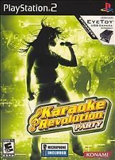 PlayStation2 Karaoke Revolution Party with Microphone VideoGames