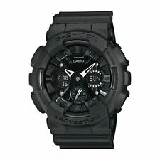 CASIO G-Shock GA-120BB-1A All Matt Black Monotone Reverse LCD X-Large