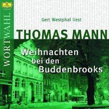 GERT WESTPHAL - THOMAS MANN-WEIHNACHTEN BEI DEN BUDDENBROOKS  CD  HÖRBUCH  NEU