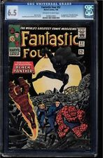 FANTASTIC FOUR #52 CGC 6.5 1ST APPEARANCE BLACK PANTHER CGC #0246623004