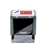 Trodat Printy 4912 Two Color Self-Inking Scanned Stamp