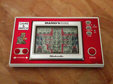 Nintendo Game and Watch *MARIO CEMENT FACTORY*  RARE 1983 *Include Batteries*