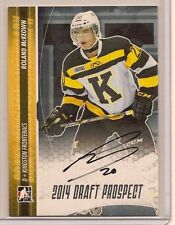 ROLAND MCKEOWN 2014 LEAF IN THE GAME ITG DRAFT PROSPECTS ON CARD SILVER AUTO