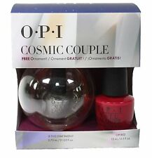 OPI Cosmic Couple Set~ OPI Red+ Is This Star Taken Nail Lacquer Christmas Gift