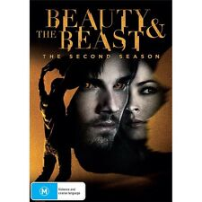 BEAUTY & THE BEAST-Season 2-Region 4-New AND Sealed-6 DVD Set-TV Series
