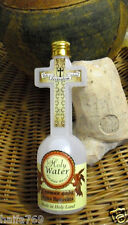 Holy water from the blessed Jordan river ,cross bottle Holy Land gift