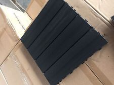 "NewTechWood Deck Tiles 12"" x 12"" - 10 pcs per box Charcoal Color - Free Shipping"