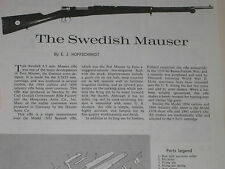 SWEDISH MAUSER 1896 & 38 RIFLE EXPLODED VIEW