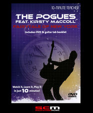 10-MINUTE TEACHER THE POGUES FAIRYTALE OF NEW YORK GUITAR DVD TUTORIAL MUSIC