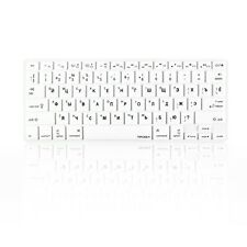 "Russian /English WHITE Silicone Keyboard Cover Skin for Macbook Pro 13"" 15"" 17"""