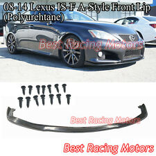 A-Style Front Lip (Urethane) Fits 08-14 Lexus IS-F ISF 4dr Sedan Only