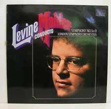 "LEVINE CONDUCTS MAHLER SYMPHONY No. 1 LONDON SYMPHONY ORCHESTRA 12"" LP (e220)"