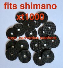 6 sets  Roys carbontex drag washers (18) suitable for  shimano XT10000