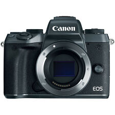 Canon EOS M5 Mirrorless Digital Camera - Black (Body Only)