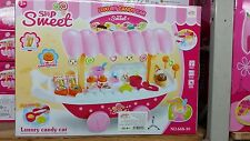 Electrical Sweet Trolley Shop Ice Cream Candy Children Roll Play Toys Gift