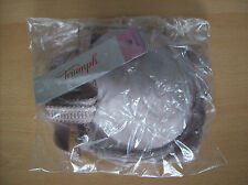 Bra Triumph Amour Spotlight WHP Underwired Bra Shadow Grey Size 32 D New + Tags