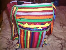 Único festival/Playa hippy bolsa de arco iris colorido Reggae, Precio Reducido!!!