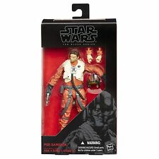 New Star Wars The Force Awakens Black Series Poe Dameron 6 Inch Action Figure