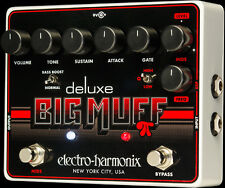 USED ELECTRO HARMONIX  DELUXE BIG MUFF DISTORTION PEDAL w/ FREE US SHIPPING