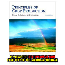 FAST SHIP: Principles Of Crop Production: Theory, Techni 2E by  Acquaah G