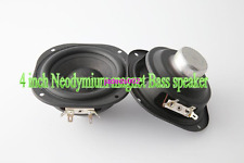 "1pcs 4""inch bass speaker Neodymium magnets 8ohm 30W 107MM"