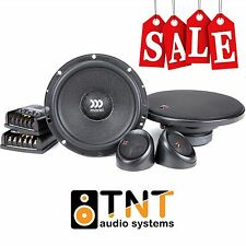 "MOREL MAXIMO 6 COMPONENT 2 WAY CAR SPEAKER SYSTEM 6.5"" 90W RMS - ORIGINAL NEW !!"