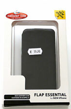 Cellular line custodia per iPhone 5 di colore nero