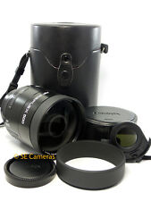 MINOLTA AF 500MM F8 REFLEX MIRROR LENS FIT MINOLTA SONY ALPHA *MINT CONDITION*