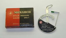 Monarch Stylus Pressure Gauge SPG-1 Made In Japan In Box