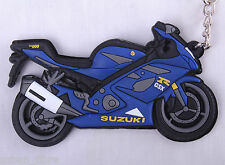 Suzuki GSXR 1000 Blue K7 8 Keyring Keyfob Chain Ring Motorbike Engine Exhaust 3D