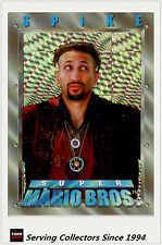 *Australia Dynamic Super Mario Bros Trading Cards Prism Card P1 Spike