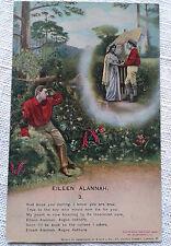 Eileen Alannah 3 Postcard Bamforth Song Card 4508/3 VTG
