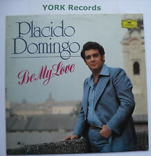 PLACIDO DOMINGO - Be My Love - Ex Con LP Record Deutsche Grammophon 2530 700