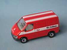 Matchbox Ford Transit Van Australia Post We Deliver Roof Stripes Version Boxed