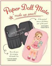 Afrocat Paper Doll Mate Big Pouch Cosmetic Makeup Bag Case Pencil Gift Case