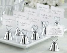 Kissing Bell Wedding Place Card Holders Photo Holders Set of 24 Favor Reception