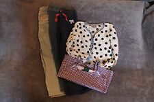 Girls Bundle Boden Joules Next Joggers Trousers Leggings Blouse Vest Top Age 7 8