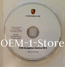 03 2004 PORSCHE 911 CARRERA 4 4S CAYENNE S NAVIGATION CD MAP 6 IL OH IN MN WI VT