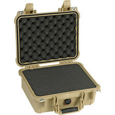 PELICAN 1400-000-190 Pelican 1400-000-190 Case w/Foam for Camera (Tan)