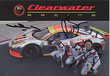 Sun Mok, Sawa, Bell Hand Signed Le Mans 2016 Promo Card Clearwater.