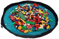 Activity Playmat That Folds Up To a Toy Storage Bag - Medium 40 Inch Diameter