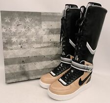 Nike + Riccardo Tisci Air Force 1 Trainers Boots US9.5 UK7 (Givenchy Sneakers )