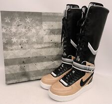 Nike x Riccardo Tisci Air Force 1 Trainers Boots US9 UK6.5 (Givenchy Sneakers )