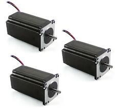 3 PCS NEW NEMA 23 STEPPER MOTOR 381 OZ-IN with Dual Shaft with Low Indutance