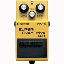 BOSS SD-1 SUPER Overdrive Tube Amp-style Growl Distortion Guitar Effects Pedal