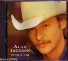 ALAN JACKSON Who I Am Classic Country 90s CD Great SUMMERTIME BLUES GONE COUNTRY