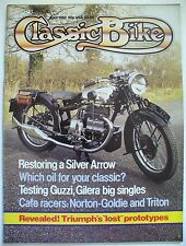 CLASSIC BIKE, Apr 1982 – Falcone, Saturno, Tohatsu CA2R, Norton-Goldie, Triton…