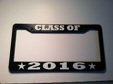 CLASS OF 2016 Year LICENSE PLATE FRAME COLLEGE GRADUATION Reunion High School