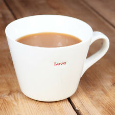 New Romantic White Red Keith Brymer Jones Word Range Love Personalised Gift Mug
