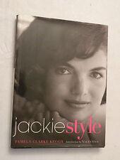 Jackie Style by Pamela Clarke Keogh (2001, HB w/dj, 1st) SIGNED BY PC KEOGH!!